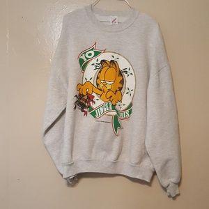 Other - Vintage 1978 Garfield Christmas jingle sweatshirt